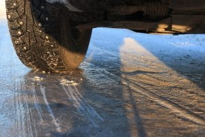 Can You Claim Damages if Black Ice Caused Another Driver to Hit You?