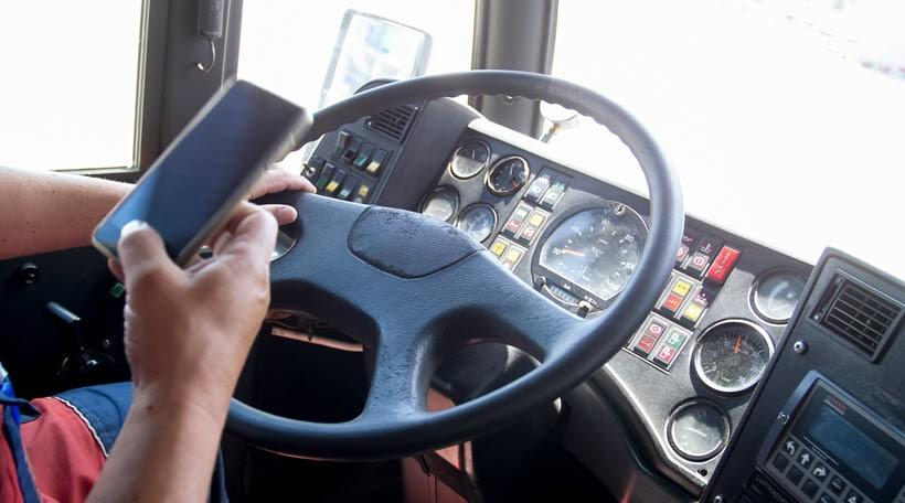 Distracted Truck Driver Accidents Richmond VA